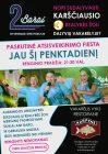 """Paskutinis TV3 realybės šou """"2 barai – Gyvenimas greitkelyje"""" dalyvių vakarėlis"""