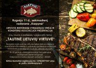"""LRVVKA prezentacija """"Tautinė lietuvių virtuvė"""""""