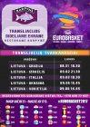 Eurobasket 2017 krepšinio varžybų Lietuva – Gruzija transliacija restorane Karpynė 18.30 val.