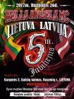 Hells Angels MC Lietuva Latvija 5-erių metų jubiliejus